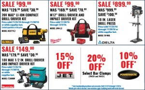 ACME Tools Black Friday Leaked Ad Scan