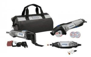 Dremel CKDR-02 Ultimate Corded Combo Kit (3-Tool)