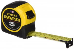 Stanley 33-725 25-Feet FatMax Tape Measure $10 @ Amazon