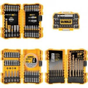 DeWalt DWA4CASE130HD 130-piece Drill/Drive Bit Set
