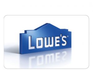 $100 Lowe's Gift Card for only $90 - Fast Email delivery