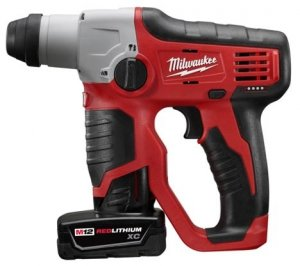 Milwaukee M12 1/2-inch Compact Rotary Hammer Makes Drilling On The Go Even Easier
