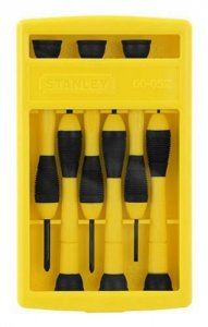 Hot Deal: Stanley 66-052 6-Piece Precision Screwdriver Set