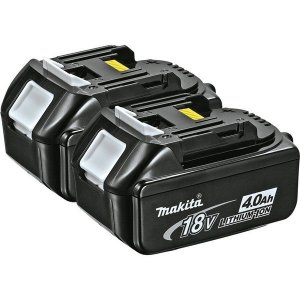 2-Pack Makita 18V LXT Lithium-Ion 4.0Ah Batteries $110 + FS