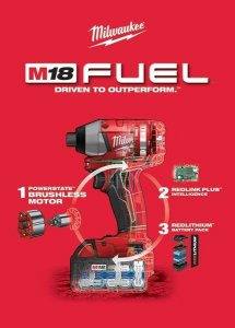 Milwaukee M18 FUEL Brushless Impact Driver Specifications & Release Date Announced