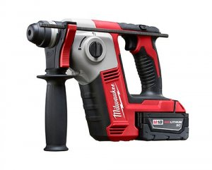 "Milwaukee Introduces 18V 5/8"" Rotary Hammer"