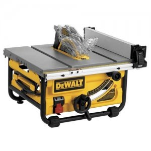 "DeWalt DW7480 10"" Compact Job Site Table Saw $289 @ Sears"