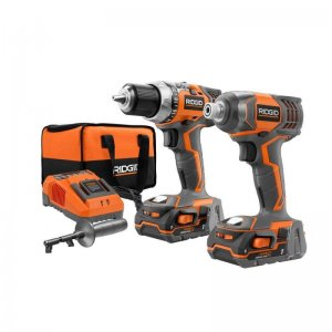 Ridgid R9600SB 18-Volt Compact Drill and Impact Driver Kit