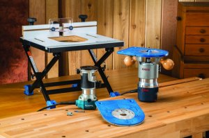 Convertible Benchtop Router Table From Rockler