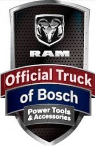 Ram Official Truck of Bosch Tools
