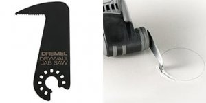 New Dremel Cutting Knife And Drywall Jab Saw Blade For Oscillating Tools