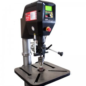 "The Nova Voyager Is A Smart Digital 18"" Drill Press"