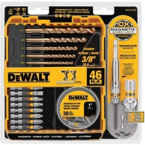 DeWalt DWA2SLS46HP 46-piece Bit Set
