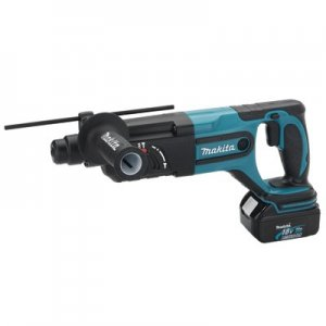 "Makita 18V LXT Lithium-Ion 7/8"" Cordless SDS-Plus Rotary Hammer Kit - BHR240"