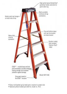 Job Site Werner Nxt1a06 6 Ft Step Ladder Reviews Tool