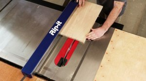 Rip-it Automates Table Saw Fence Setup