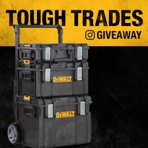 DEWALT #ToughTrades Holiday Giveaway