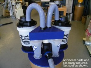 Oneida Now Offering Dust Deputy Triple Cyclone Kit