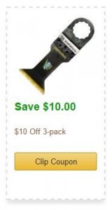 Save $10 on Imperial Oscillating Blades