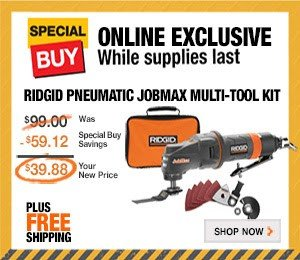 Ridgid multi-tool on sale