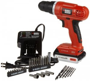 Black & Decker LD120VA 20-Volt MAX Lithium-Ion Drill/Driver w/ 30 Accessories
