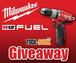 ToolRank Giveaway: Win A Milwaukee M12 Fuel Brushless Drill Kit