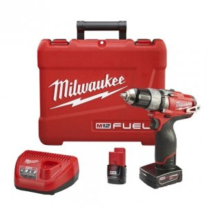 "Milwaukee M12 FUEL 1/2"" Drill/Driver Kit - 2403-22"