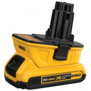 DEWALT Launches 20V MAX Battery Adapter That Works with Most DEWALT 18V Tools