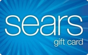 Sears Gift Card Sale