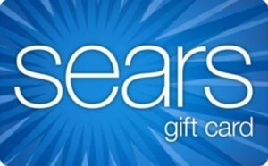 sears gift cards sale