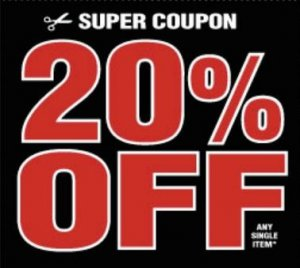 harbor Freight 20% off coupon 4th of July
