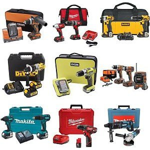 Various Power Tools and Cordless Combo Sets on Sale at Homedepot.com