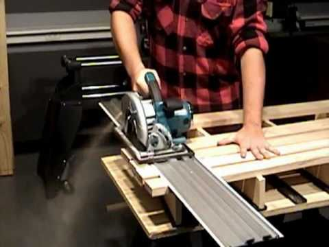 Truetrac Turns Circular Saw Into Track Saw Tool Rank Com