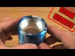 How To Make A Rolled-Edge Aluminum Bottle Stove