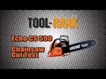 ECHO Timber Wolf CS590 Chainsaw Cut Test