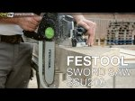 Festool Sword Saw Demo - ITS TV