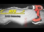 Dextra - 15153 - 18v Lithium-ion Drill Kit - Unboxing