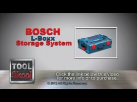 Bosch L-Boxx Click & Go Storage System - Tool Skool - Tool Review