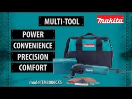 Makita's New Multi-Tool model TM3000CX5
