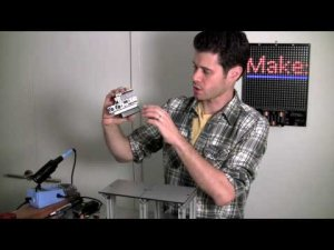John Park in the Maker Shed: Ultrasonic Distance Sensor
