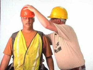 Most comfortable way to wear your hard hat!