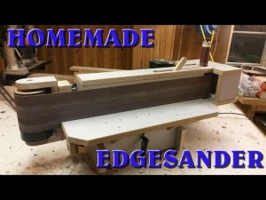 Shopmade Oscillating Edge Sander