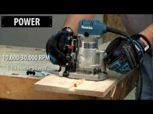 Makita's New RT0700CX3 Compact Router Kit