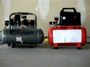 California Air Tools Ultra Quiet & Lightweight Air Compressor