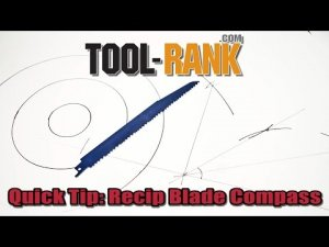 Quick Tip: Draw Circles And Bisect Angles With A Reciprocating Saw Blade