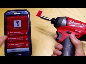 Quick Clip: Milwaukee One-Key Tool Control with Bluetooth App